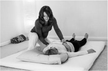 Colette McNeill - Shiatsu treatment at Healthy Life Centre in Edinburgh
